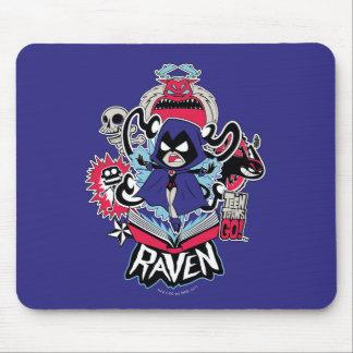 Teen Titans Go! | Raven Demonic Powers Graphic Mouse Mat