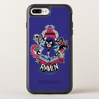 Teen Titans Go! | Raven Demonic Powers Graphic OtterBox Symmetry iPhone 8 Plus/7 Plus Case