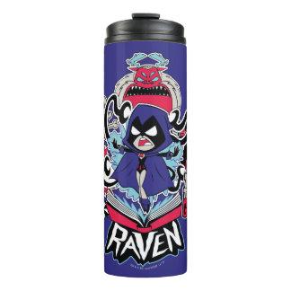 Teen Titans Go! | Raven Demonic Powers Graphic Thermal Tumbler