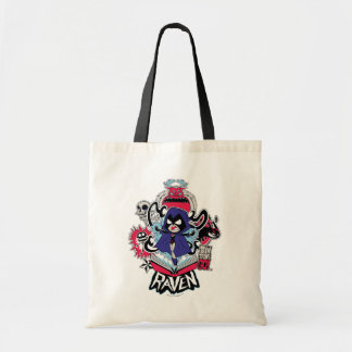 Teen Titans Go! | Raven Demonic Powers Graphic Tote Bag