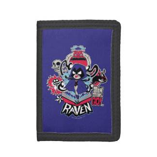 Teen Titans Go! | Raven Demonic Powers Graphic Tri-fold Wallet