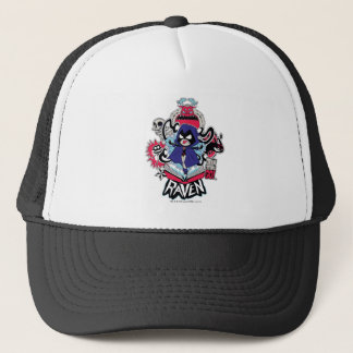 Teen Titans Go! | Raven Demonic Powers Graphic Trucker Hat