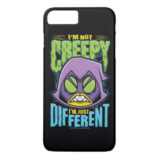 "Teen Titans Go! | Raven ""Not Creepy I'm Different"" iPhone 8 Plus/7 Plus Case"