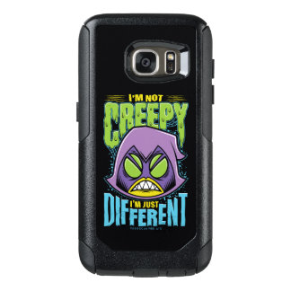 "Teen Titans Go! | Raven ""Not Creepy I'm Different"" OtterBox Samsung Galaxy S7 Case"