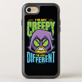 "Teen Titans Go! | Raven ""Not Creepy I'm Different"" OtterBox Symmetry iPhone 8/7 Case"