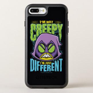 "Teen Titans Go! | Raven ""Not Creepy I'm Different"" OtterBox Symmetry iPhone 8 Plus/7 Plus Case"