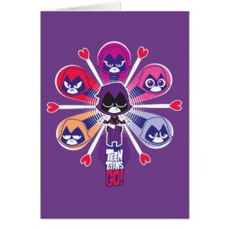 Teen Titans Go! | Raven's Emoticlones Card