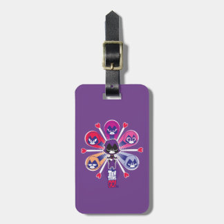 Teen Titans Go! | Raven's Emoticlones Luggage Tag