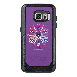 Teen Titans Go! | Raven's Emoticlones OtterBox Samsung Galaxy S7 Case