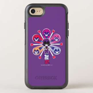 Teen Titans Go! | Raven's Emoticlones OtterBox Symmetry iPhone 8/7 Case
