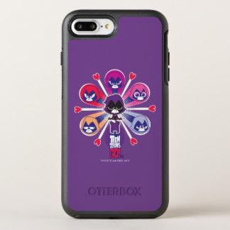 Teen Titans Go! | Raven's Emoticlones OtterBox Symmetry iPhone 8 Plus/7 Plus Case
