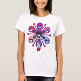 Teen Titans Go! | Raven's Emoticlones T-Shirt