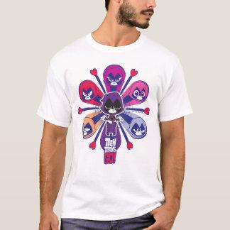 Teen Titans Go!   Raven's Emoticlones T-Shirt