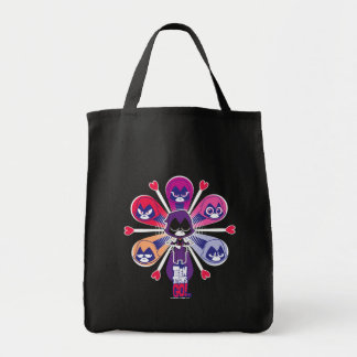 Teen Titans Go! | Raven's Emoticlones Tote Bag