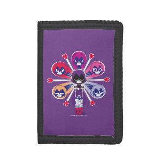 Teen Titans Go! | Raven's Emoticlones Tri-fold Wallets