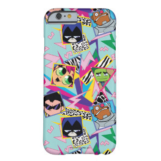 Teen Titans Go! | Retro 90's Group Collage Barely There iPhone 6 Case