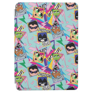 Teen Titans Go! | Retro 90's Group Collage iPad Air Cover