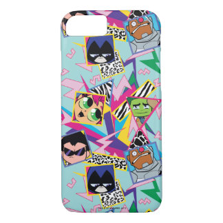 Teen Titans Go! | Retro 90's Group Collage iPhone 8/7 Case