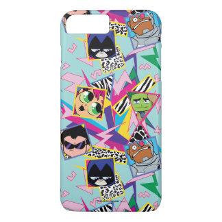Teen Titans Go! | Retro 90's Group Collage iPhone 8 Plus/7 Plus Case