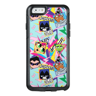 Teen Titans Go! | Retro 90's Group Collage OtterBox iPhone 6/6s Case