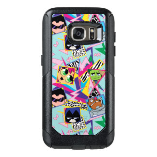 Teen Titans Go! | Retro 90's Group Collage OtterBox Samsung Galaxy S7 Case