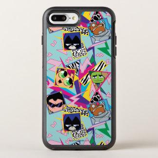 Teen Titans Go! | Retro 90's Group Collage OtterBox Symmetry iPhone 8 Plus/7 Plus Case