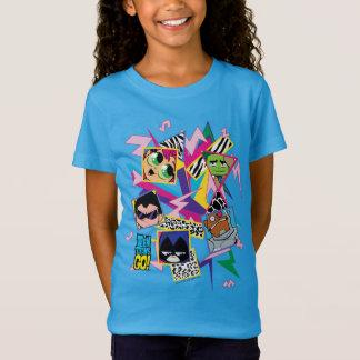 Teen Titans Go! | Retro 90's Group Collage T-Shirt