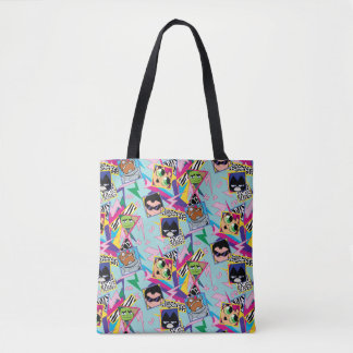 Teen Titans Go! | Retro 90's Group Collage Tote Bag