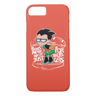 Teen Titans Go! | Robin Booty Scooty Buns iPhone 8/7 Case