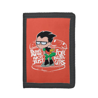 Teen Titans Go! | Robin Booty Scooty Buns Trifold Wallet