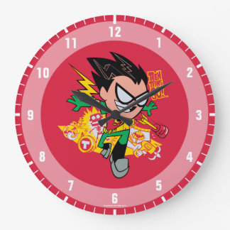 Teen Titans Go!   Robin's Arsenal Graphic Large Clock