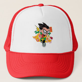 Teen Titans Go! | Robin's Arsenal Graphic Trucker Hat