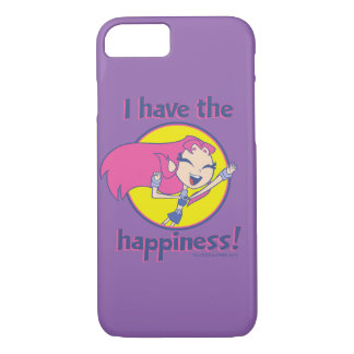 "Teen Titans Go! | Starfire ""I Have The Happiness"" iPhone 8/7 Case"