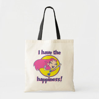"Teen Titans Go! | Starfire ""I Have The Happiness"" Tote Bag"