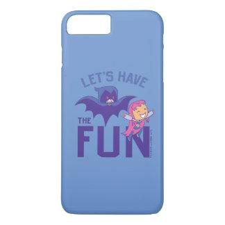 "Teen Titans Go! | Starfire & Raven ""Have The Fun"" iPhone 8 Plus/7 Plus Case"