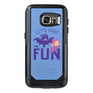 "Teen Titans Go! | Starfire & Raven ""Have The Fun"" OtterBox Samsung Galaxy S7 Case"