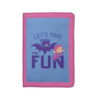 "Teen Titans Go! | Starfire & Raven ""Have The Fun"" Tri-fold Wallet"