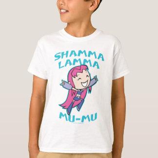 """Teen Titans Go!   Starfire """"Shamma Lamma Mu-Mu"""" T-Shirt"""