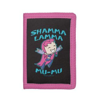 "Teen Titans Go! | Starfire ""Shamma Lamma Mu-Mu"" Tri-fold Wallets"