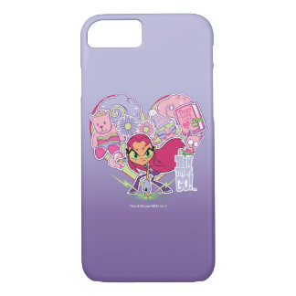 Teen Titans Go! | Starfire's Heart Punch Graphic iPhone 8/7 Case