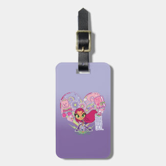 Teen Titans Go! | Starfire's Heart Punch Graphic Luggage Tag