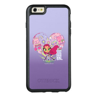 Teen Titans Go! | Starfire's Heart Punch Graphic OtterBox iPhone 6/6s Plus Case