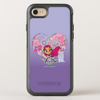 Teen Titans Go! | Starfire's Heart Punch Graphic OtterBox Symmetry iPhone 8/7 Case