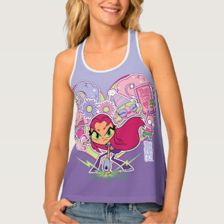 Teen Titans Go! | Starfire's Heart Punch Graphic Tank Top