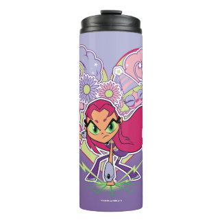 Teen Titans Go! | Starfire's Heart Punch Graphic Thermal Tumbler
