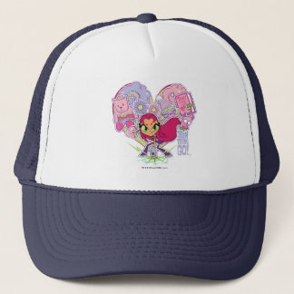 Teen Titans Go! | Starfire's Heart Punch Graphic Trucker Hat