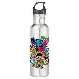 Teen Titans Go!   Team Arrow Graphic 710 Ml Water Bottle