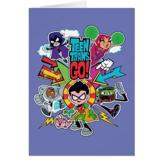 Teen Titans Go! | Team Arrow Graphic Card