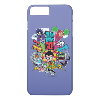 Teen Titans Go! | Team Arrow Graphic iPhone 8 Plus/7 Plus Case
