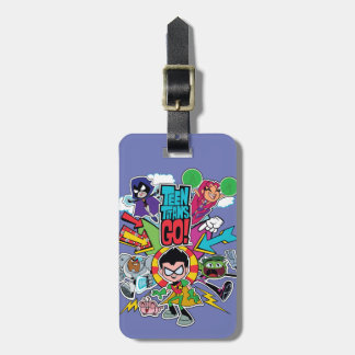 Teen Titans Go! | Team Arrow Graphic Luggage Tag